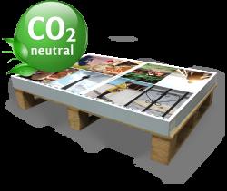 Druckbogen-klimaneutral Drucken