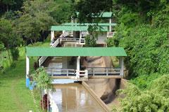 Klimaneutral Wasserkraftwerk